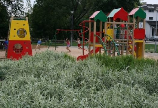 Sport and playground equipment installation